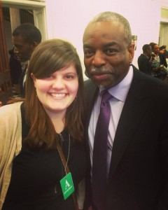 Jennifer Montooth and Levar Burton