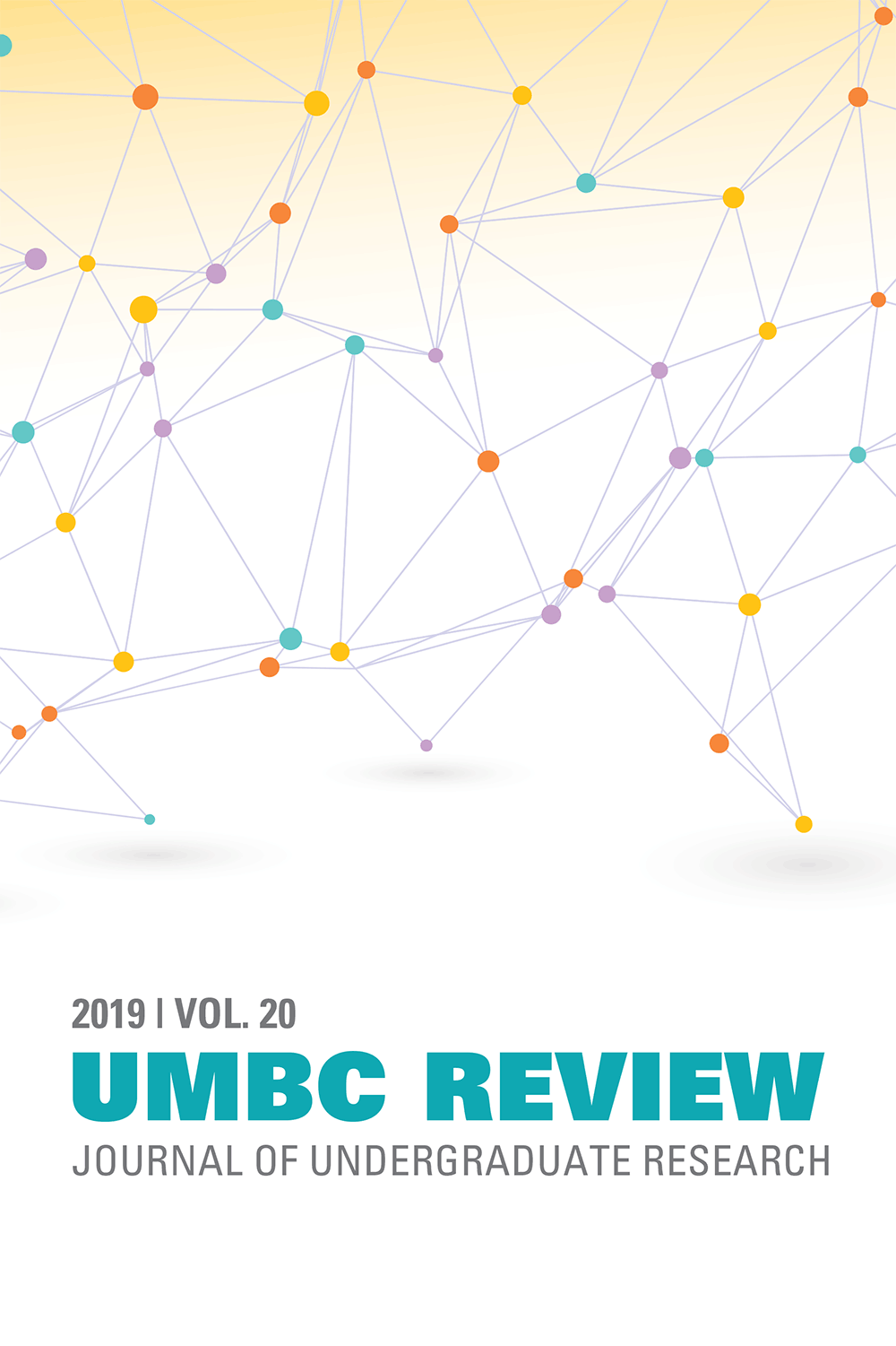 UMBC Review 2019 cover